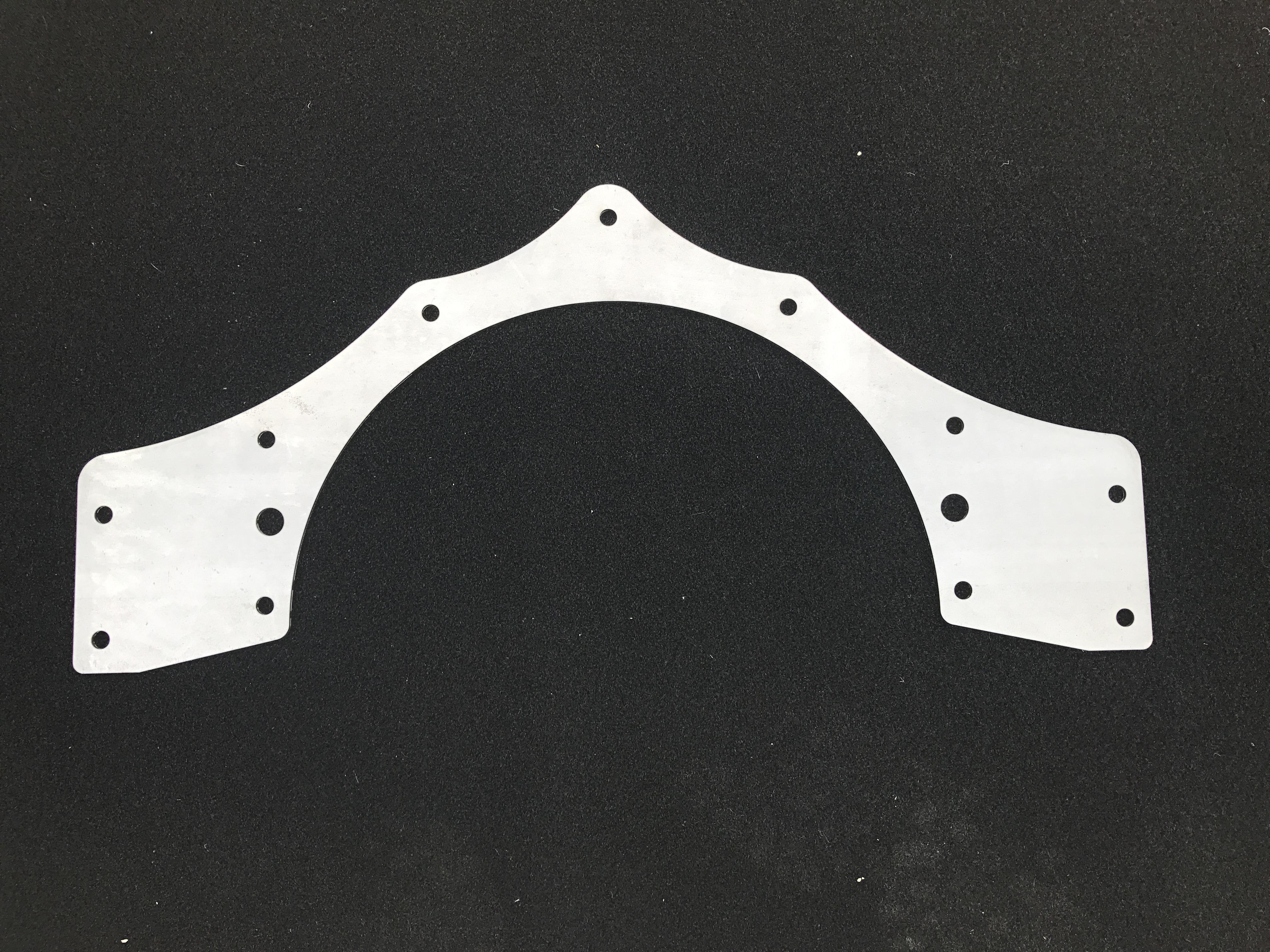 Mid Motor Plate (Aluminum) - 62-67 Nova