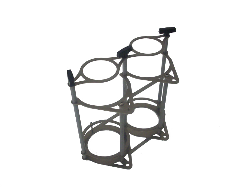 Dual Bottle Bracket Stand-Up Style