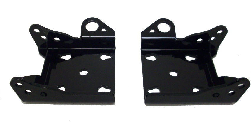 Leaf Spring Lower Shock Mounts