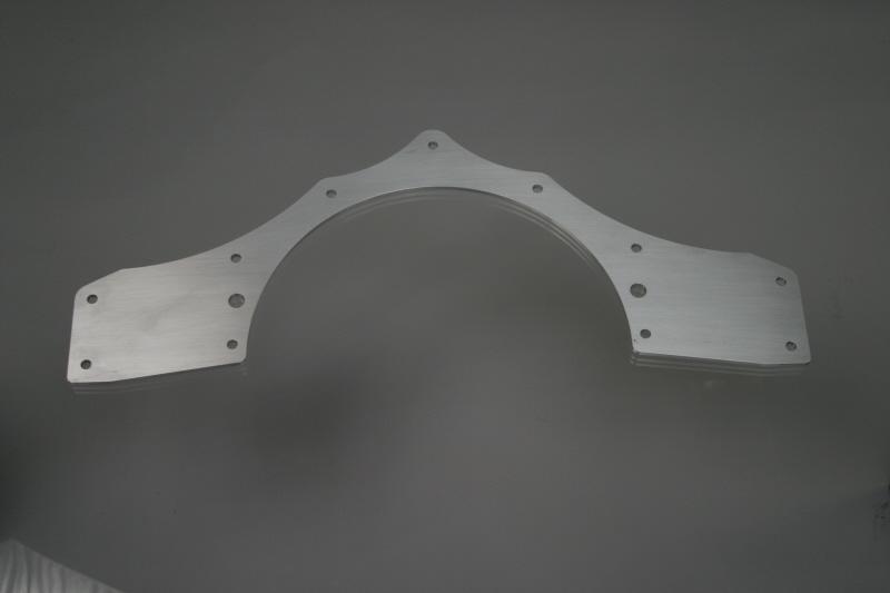 Mid Motor Plate (Aluminum)